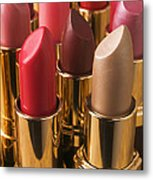 Tubes Of Lipstick Metal Print