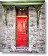 Tucson Red Door Metal Print