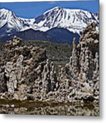 Tufa At Mono Lake California Metal Print