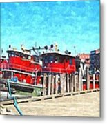 Tugboat Twc Metal Print