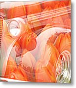 Tulip Car Abstract Metal Print