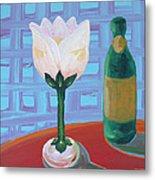 Tulip Champagne Metal Print