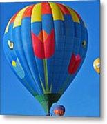 Tulip Hot Air Balloon Metal Print