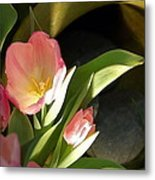 Tulip Lights Metal Print