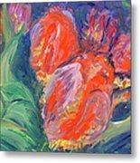 Tulips Metal Print by Barbara Anna Knauf