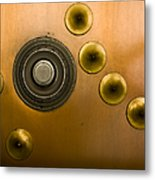 Tumbler On A Vault Door Metal Print