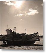 Tuna Rest Metal Print