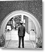 Tunnel Man Metal Print