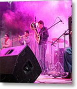 Turab Band At 1st Nativity International Christmas Festival Metal Print