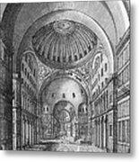 Turkey: Hagia Sophia, 1680 Metal Print
