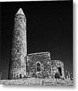 Turlough Round Tower County Mayo Ireland Metal Print