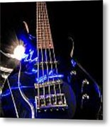Turn Up The Bass Metal Print