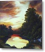 Turner's Sunrise Metal Print