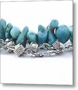 Turquoise Metal Print by Blink Images