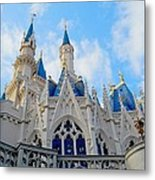Turrets And Spires Metal Print