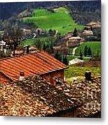 Tuscany Landscape 2 Metal Print