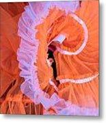 Tutu Swirls Metal Print by Denice Breaux