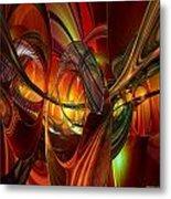 Twilight Abstract Fx  Metal Print