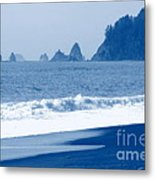 Twilight Blue Metal Print