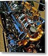 Twin Engines Metal Print