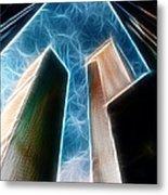 Twin Towers Metal Print by Paul Ward