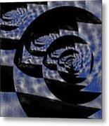 Twirlig Shine Metal Print