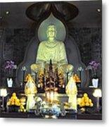 Twisted Buddha Metal Print