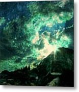 Twisted Nimbus Metal Print