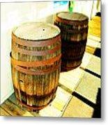 Two Barrels 2 Metal Print