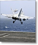 Two Fa-18c Hornet Strike Fighters Metal Print