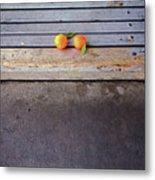 Two Tangerines Metal Print by Sarah Palmer
