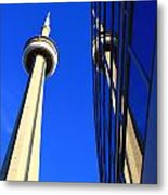 Two Towers Metal Print