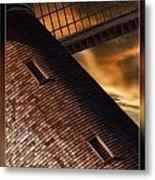 Two Window Mill Metal Print