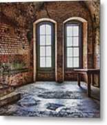 Two Windows Metal Print by Garry Gay