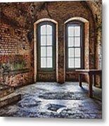 Two Windows Metal Print by Garry Gay