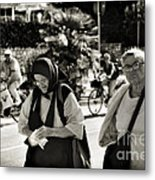 Two Women In Rovinj 2 Metal Print