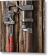 Two Wrenches Metal Print by Garry Gay