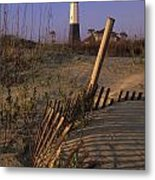 Tybee Island Lighthouse - Fs000812 Metal Print