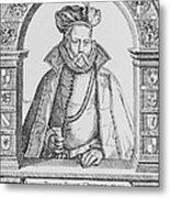 Tycho Brahe Metal Print