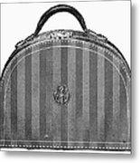 Typewriter Case, 1889 Metal Print
