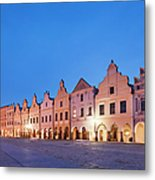 Typical Houses And The Castle Metal Print by Maremagnum