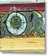 Typical Urban Fence 3 Metal Print