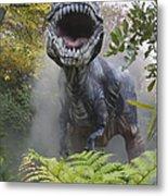 Tyrannosaurus Metal Print