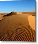 Ubari Sand Sea, Libyan Sahara Metal Print