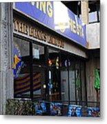 Uc Berkeley . Bears Lair Pub . 7d10163 Metal Print