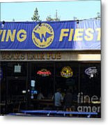 Uc Berkeley . Bears Lair Pub . 7d9980 Metal Print