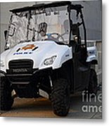 Uc Berkeley Campus Police Buggy  . 7d10184 Metal Print