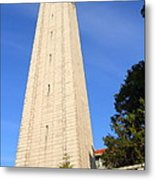 Uc Berkeley . Sather Tower . The Campanile . Clock Tower . 7d10086 Metal Print