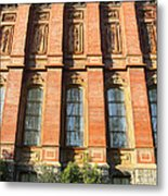 Uc Berkeley . South Hall . Oldest Building At Uc Berkeley . Built 1873 . 7d10111 Metal Print by Wingsdomain Art and Photography