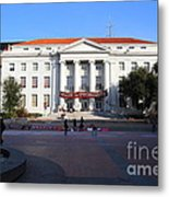 Uc Berkeley . Sproul Hall . Sproul Plaza . Occupy Uc Berkeley . 7d9994 Metal Print
